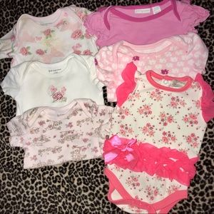 Other - 💎size 0-3 months💎baby Girls Onesies💎must bundle